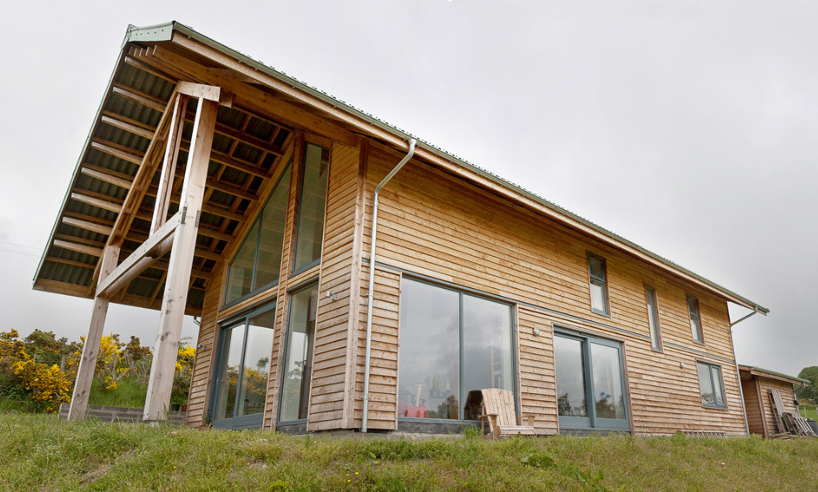 The Larch House